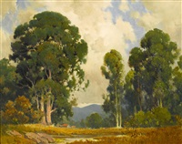 farm and eucalyptus by percy gray