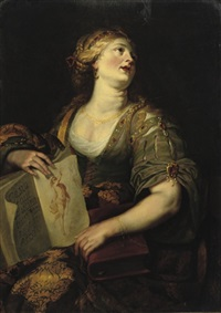 the cumaean sybil by jan van den hoecke