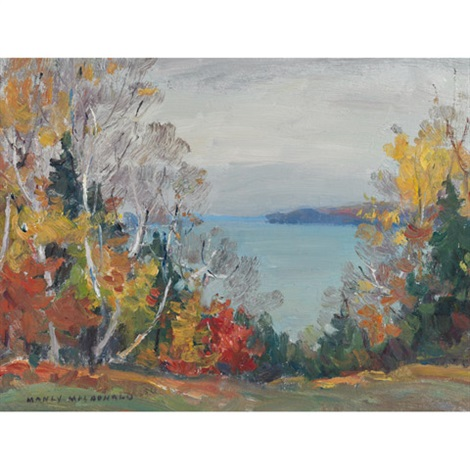 autumn hay bay ont by manly edward macdonald