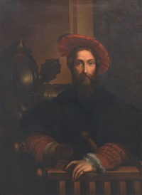portrait of galeazzo sanvitales by parmigianino