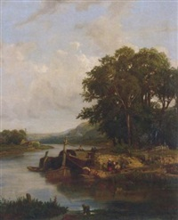 the river crossing by victor marie felix danvin