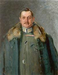 bildnis eines k. u. k. oberst und regimentskommandanten by oskar stössel