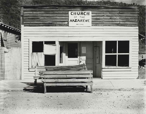 church of the nazarene tennessee by walker evans
