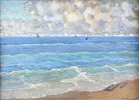 seascape by frank charles peyraud