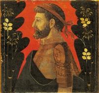 ritratto di uomo illustre a mezzo busto di profilo by italian school-lombardy (15)