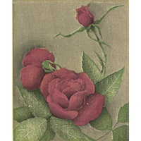 roses #2; untitled (roses); potato shoots (3 works) by luigi rist