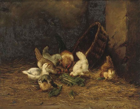 in the barn by philibert leon couturier