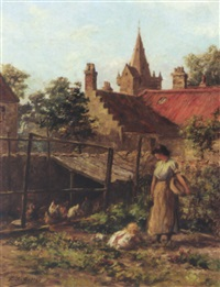 the kitchen garden by charles a. sellar