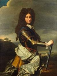 portrait de philippe d'orléans, régent de france by jean-baptiste santerre