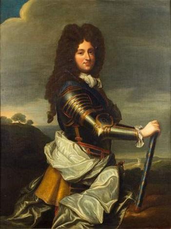 portrait de philippe dorléans régent de france by jean baptiste santerre