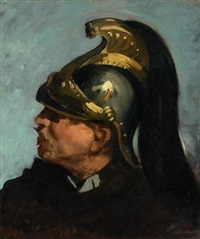 portrait d'un dragon by frédéric bazille