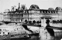 paris, hôtel de ville by francois alphonse fortier