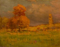 landscape by frank charles peyraud