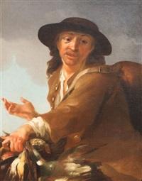 jeune garçon chasseur by bernhard keil