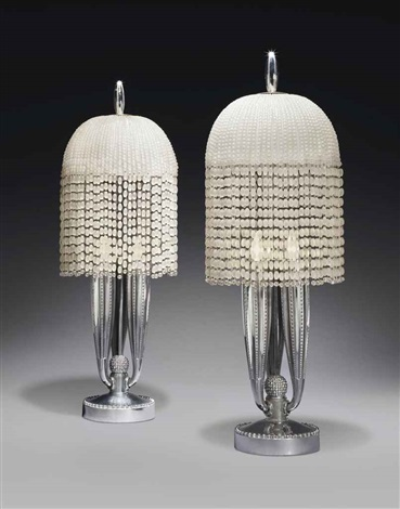 table lamps pair by émile jacques ruhlmann