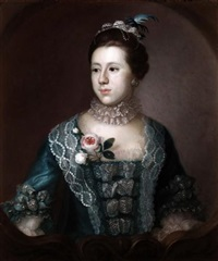 portrait of mary weston by john astley