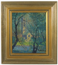 thru the willows, perkins institute tower by dorothy stanley emmons