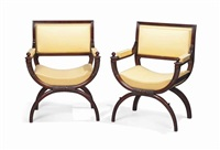 fauteuils (pair) by georges jacob