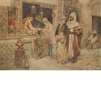 browsing the stalls by ettore simonetti