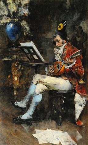 the musician by giovanni boldini