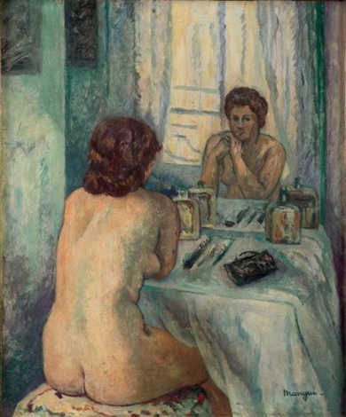 le reflet monique by henri charles manguin