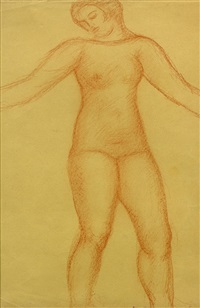 baigneuse by aristide maillol