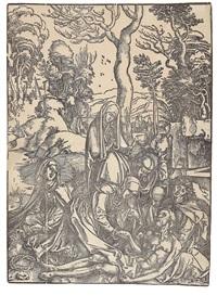 beweinung christi by albrecht dürer