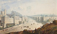 picturesque views of edinburgh (33 works) by john wilson ewbank