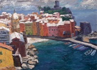 vernazza by rudolf alber