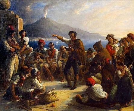 les révolutionnaires napolitains by alexandre marie colin
