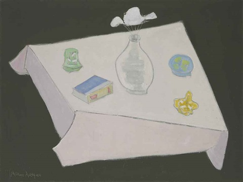 pale flower pale flower by milton avery