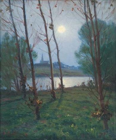 clair de lune sur le village by charles victor guilloux