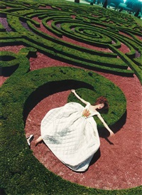collapse in a garden by david lachapelle