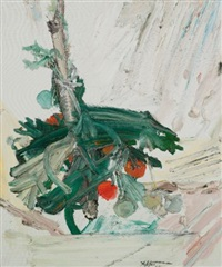 untitled (tomato plant) by manoucher yektai