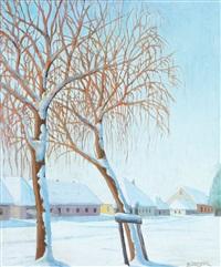 silence (winter in nagybánya) by samu börtsök