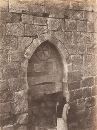 architecture des croisades, karak by henri sauvaire