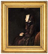 marie krohg i profil by christian krohg