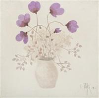 violets by constantin piliuta