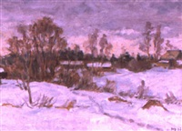 paysage du soir by nikolai maksimovich melnikov