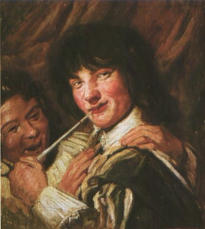 the smoker by frans hals the elder