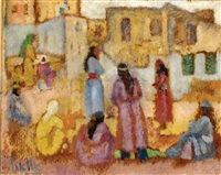 figures in safed by arie alweil