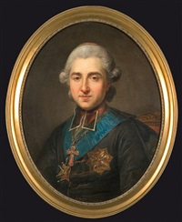 portrait of prince michal jerzy poniatowski by marcello bacciarelli