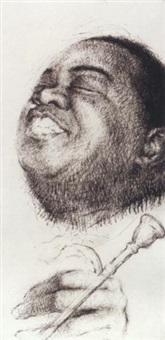 red beans and ricely yours - louis armstrong by arthur lerner