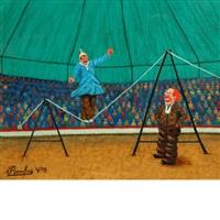 scene de cirque by camille bombois