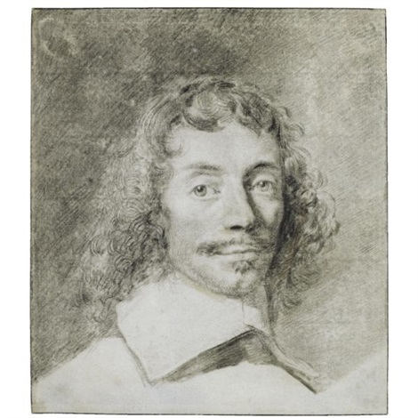 portrait of a young gentleman head and shoulders by cornelis visscher