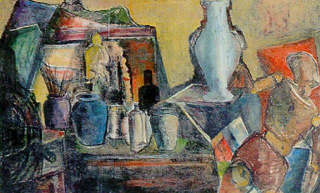 still life by isidor aschheim