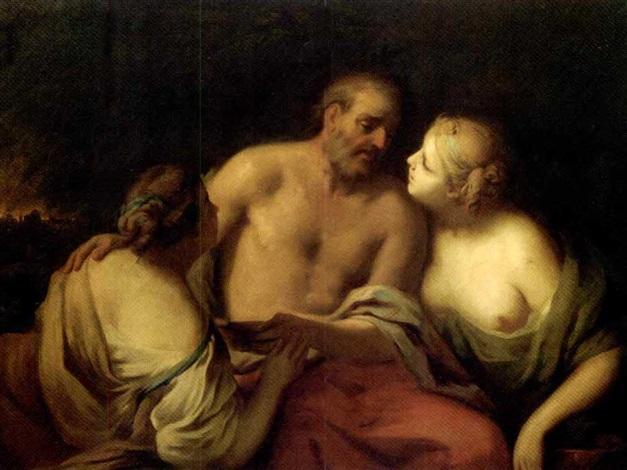 lot and his daughters by robert von stutterheim