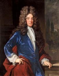 portrait of a gentleman by charles d' agar