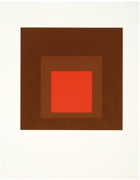 hommage au carre (hommage au carre series) by josef albers
