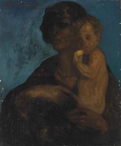 maternity by hermenegildo anglada camarasa